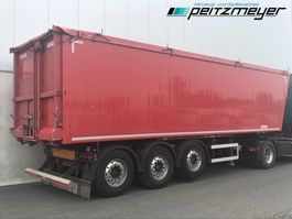 tipper semi trailer Kempf 3 Achs Kippauflieger Getreidemulde ca. 50 m³ Kombitür Kornschieber, Aluf... 2013