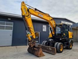 wheeled excavator JCB JS160W - HYDRAULIC BUCKET - CAMERA - AC 2016