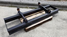 pallet fork attachment Volvo 2.10m wide fork frame to suit Volvo coupler
