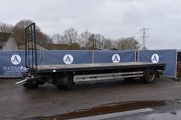 flatbed car trailer Renders Aanhangwagen