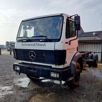 chassis cab truck Mercedes-Benz 1717 1998