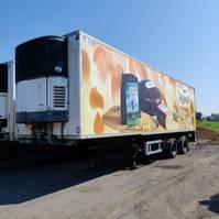 refrigerated semi trailer LAG frigo trailer 1987