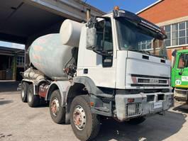 concrete mixer truck Iveco Eurotrakker 410