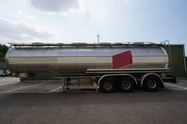 Tankauflieger Dijkstra 3 AXLE FOOD TRAILER 1990