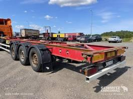Container-Fahrgestell Auflieger Schmitz Cargobull Semitrailer Containerchassis Standard 2012