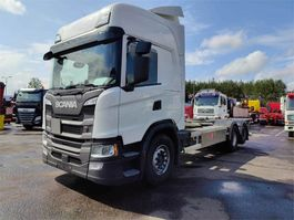 container truck Scania G500 6x2 Hidastimella 2018