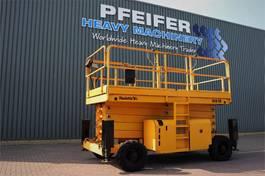 scissor lift wheeld Haulotte H18SX Diesel, 4x4 Drive, 18m Working Height, 500kg 2008