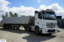 tipper truck > 7.5 t Mercedes-Benz 2858 w/AMT 30 Tip semi 2018