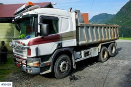 tipper truck > 7.5 t Scania 124.400 6x2 Tipper truck with low km. Rep object 1997
