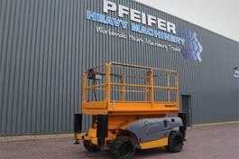 scissor lift wheeld Haulotte COMPACT 10DX Diesel, 4x4 Drive, 10m Working Height 2008