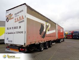 sliding curtain trailer Lecitrailer XF 105.410 + 3 axle 2007