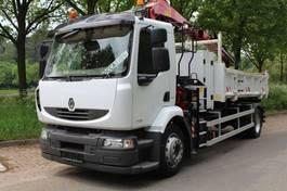 Renault Midlum 270 RENAULT MIDLUM 18.270 KIPPER MET KRAAN 2012