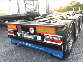 container chassis semi trailer D-TEC s