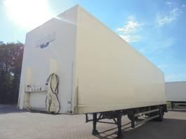 closed box semi trailer Groenewegen DROS 1010-B 1999