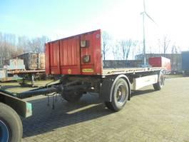 flatbed full trailer Krone AZ 2011