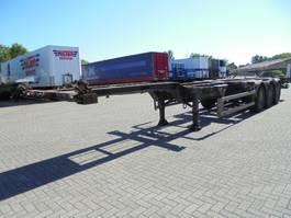 container chassis semi trailer Netam-Fruehauf OSCCR 39-327 A 1999