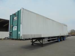 closed box semi trailer Floor voor opslag of inter transport 1995