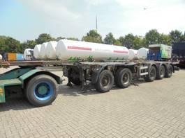 container chassis semi trailer D-TEC CT-60-05 DEELBAAR 2003