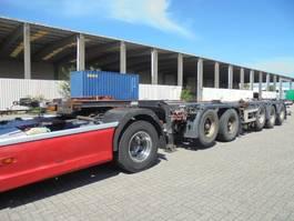 container chassis semi trailer D-TEC CT-60 05D DEELBAAR 2004