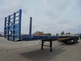 flatbed semi trailer EKW RO 44TU3ALV 1986