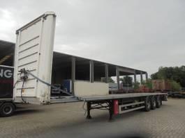 flatbed semi trailer Fruehauf GEGALVANISEERD 2009