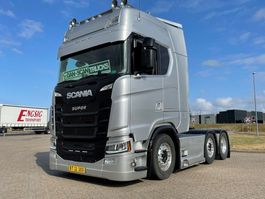 cab over engine Scania S500 new Truck Silwer Star full option 2018