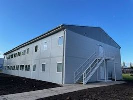 office living container Vamiro Commercial building 990m2 - 56 modules, living container, office container, container house, garden house bungalow, container living module - 33m x 15m- NEW 2021
