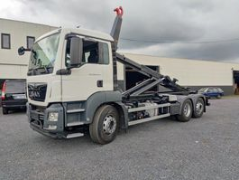 container truck MAN TGS 26 Container Euro6 2017