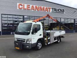 crane truck Mitsubishi 6C15 Palfinger 3 ton/meter laadkraan 2010