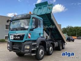 tipper truck MAN TGS 35 8x6, Euro 6, Meiller, Bordmatik 2017