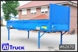 curtain slider swap body container KOEGEL EN 74 Baustoff, 7,45 BDF, Bordwand, Pritsche 2000