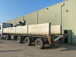 flatbed semi trailer EKW 39T3AH6 2001