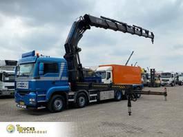 crane truck MAN 50.480 + Manual + Fassi F1500XP Crane + 10x4 + Remote 2006