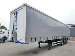 sliding curtain semi trailer Kaiser S3803AB - 3 SMB assen - Alcoa - Schijfremmen - Hardhoutenvloer (O643) 2006