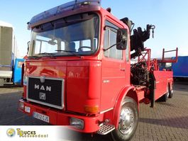 crane truck MAN 22.361 + Manual V10+ PTO + ZOLLERN Crane 1979