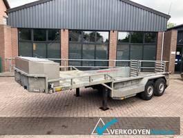 lowloader semi trailer Veldhuizen 2 assige oplegger dieplader HS-DLO 2010
