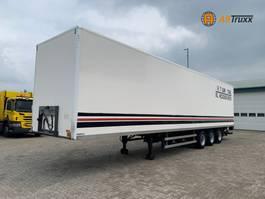 closed box semi trailer Burg BPO 3-As BPW NL trailer 2006