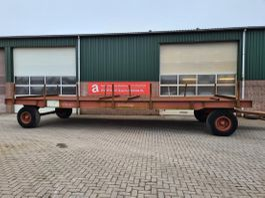 flatbed full trailer Nooteboom industriewagen