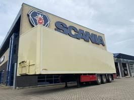 Kofferauflieger Hertoghs Geïsoleerde box trailer met achtersluiter en stuuras 2010