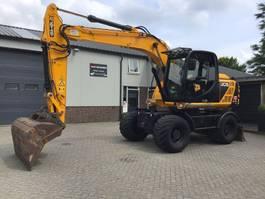 wheeled excavator JCB JS145W 2014