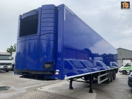 refrigerated semi trailer DRACO TZA 342 LBW - LIFTING AXLE - STEERING AXLE - NL TRAILER - TOP!! 2004