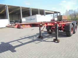 container chassis semi trailer Burg BPO 12-18 C 1989