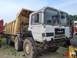 other trucks MAN KAT 8x8 axle broken V8 1994