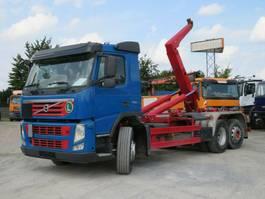 container truck Volvo FM 460 FM 12 Abrollkipper Meiller Lenk+Lift 2013