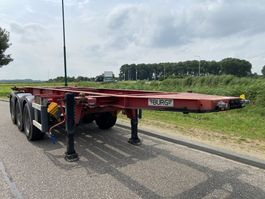 container chassis semi trailer Burg 3-Axle 20 FT Chassis / ADR / BPW / Discbrakes 2004