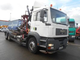 drop side truck MAN TGA 2005