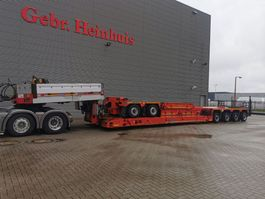 lowloader semi trailer Goldhofer STZ-VP6 (2+4) Hydr. Widened Vesselbed Powerpack 4 M Extand. + 7 M Extensions! 2011