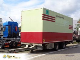 refrigerated trailer Fliegl TPS 180 + 2 Axle + TRS Cooling + Dhollandia Lift 2006