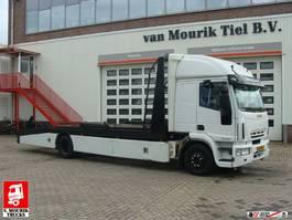 car transporter truck Iveco EuroCargo 150 EURO 5 - AUTOTRANSPORT - BS-TX-63 2007