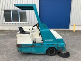 road sweeper Tennant 235d, Veegmachine, Diesel 1995